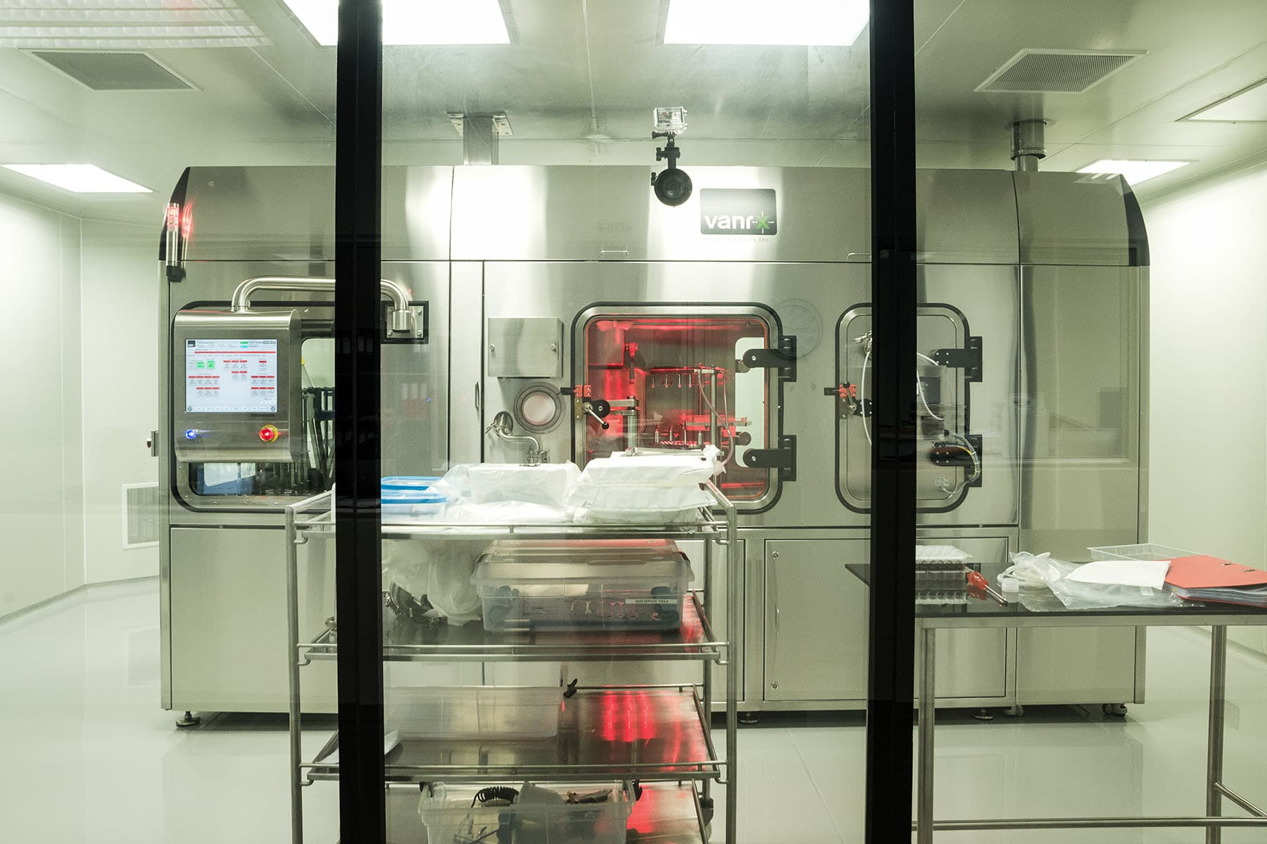 Vanrx's aseptic filling technology can speed up the design, build and validation process to start a filling facility.