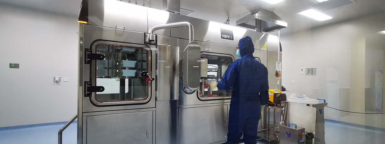 WuXi Biologics reached its first GMP batch release 15 months after purchasing the SA25 Aseptic Filling Workcell.