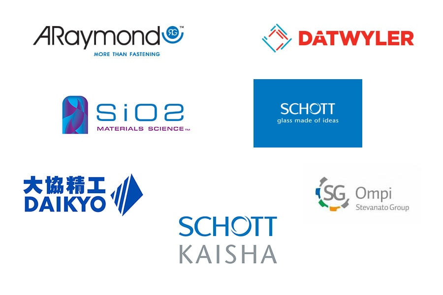 Vanrx formed the Matrix Alliance with leading packing companies including ARaymondlife, Daikyo Seiko, Datwyler, Ompi, Schott, Schott Kaisha and SiO2 Material Science.