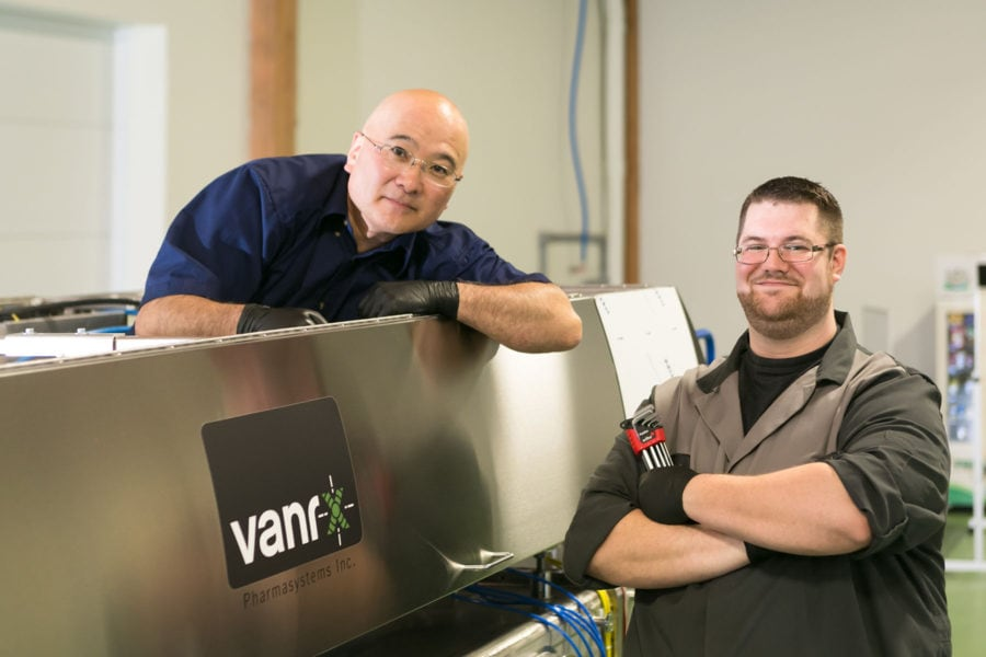 Vanrx employees provide expert manufacturing and maintenance support for our customers.