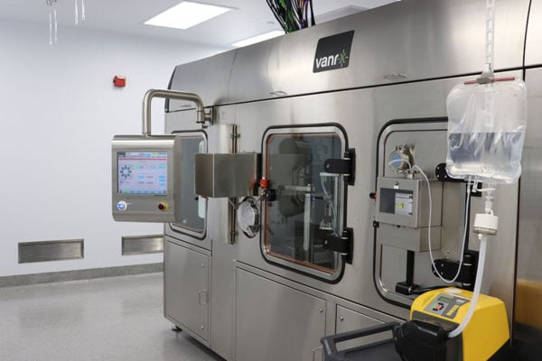 SA25 Aseptic Filling Workcell installed at Emergent BioSolutions' Winnipeg site.